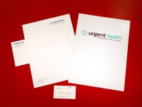 Urgent Team Stationery & Pocket Folder
