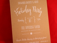 Loveless Holiday Invitation