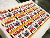 Warning Labels and Safety Stickers
