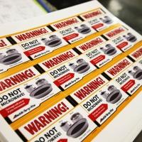 Aladdin Warning Labels