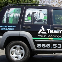 Team Logic Vehicle Graphic