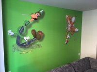 21c Museum Hotel Kids Room Wall Mural