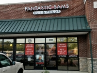 Fantastic Sam\'s Window signs