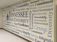 TSU Word Wall Mural