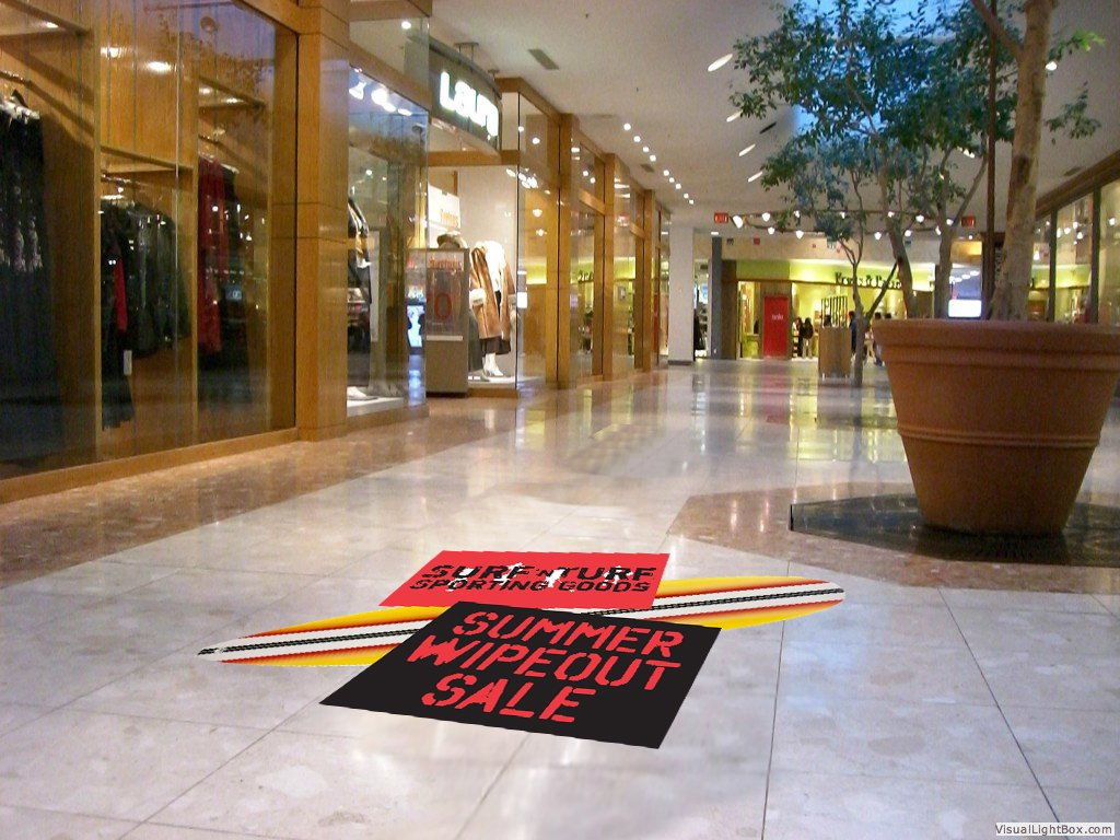 Custom Floor Decals Floor Graphics Dynamark Nashville