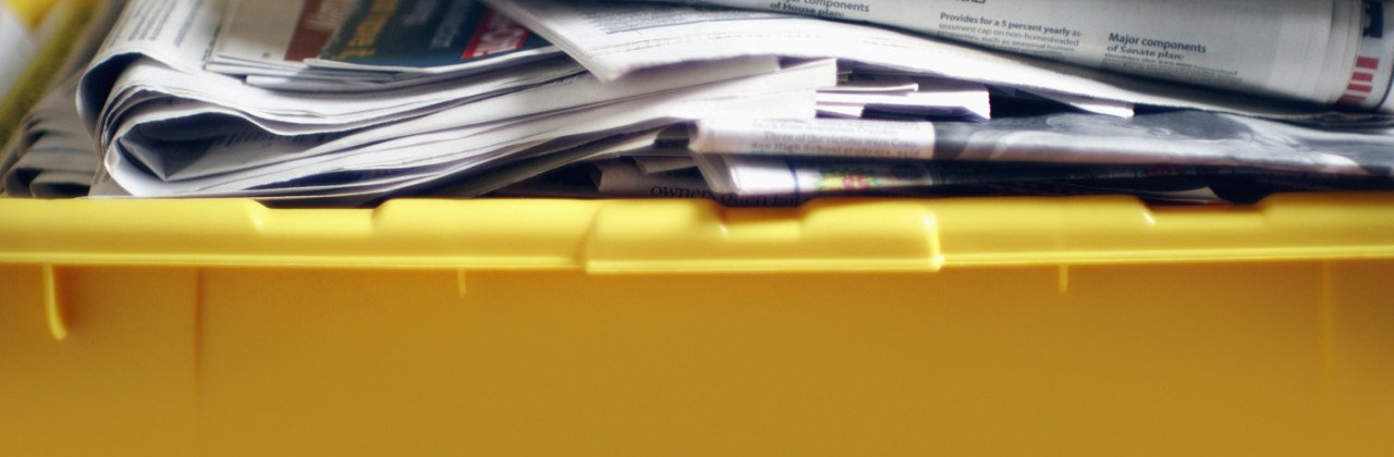 The Myth: Print and paper is a wasteful product.