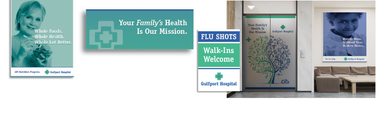 Hospital Relaunch Necessitates Signage Overhaul