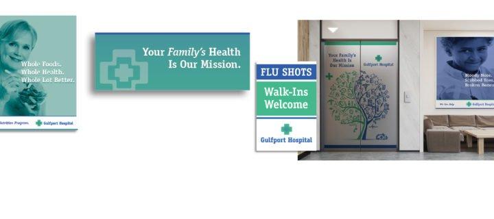 Hospital Relaunch Necessitates Signage Overhaul