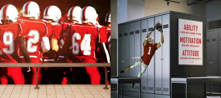 Graphics and Signs: a victory for high school athletics