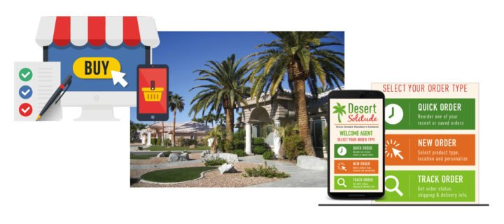 Online Storefront – a desert oasis for this realty business