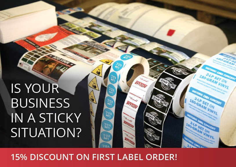 Custom Sticker and Label Rolls